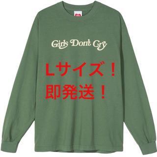 ジーディーシー(GDC)のgirls dont cry ガールズドントクライ ロンT 緑L(Tシャツ/カットソー(七分/長袖))
