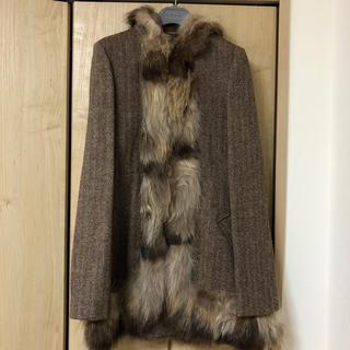 マルニ(Marni)のマルニ MARNI ファーコート コート(毛皮/ファーコート)