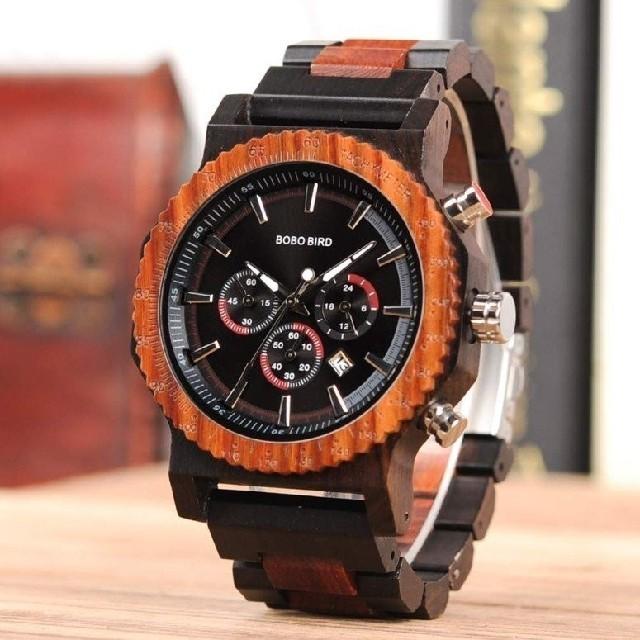 六角 ボボバード 腕時計 木製 レターパックの通販