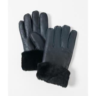 グラム(glamb)のglamb ムートングローブ Mouton glove 手袋 BLACK(手袋)
