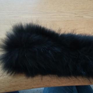 ナチュラルビューティーベーシック(NATURAL BEAUTY BASIC)の NATURAL BEAUTY タヌキ毛皮のストール?(ストール/パシュミナ)