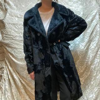 ロキエ(Lochie)の80s vintage ファーコート フェイクファー jantiques(毛皮/ファーコート)