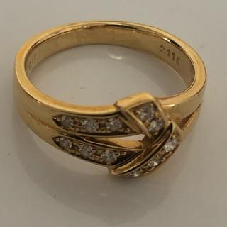 ポーラ(POLA)の750ダイヤリング(リング(指輪))