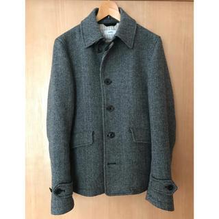 シップス(SHIPS)のジャケット コート ウール メンズ シップス SHIPS グレー M 冬 秋(テーラードジャケット)