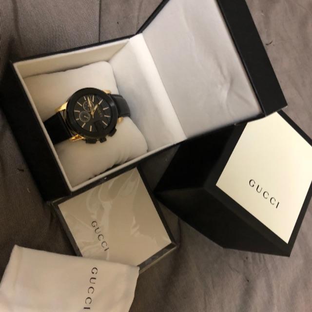 Gucci - GUCCI クロノグラフ メンズ 腕時計の通販