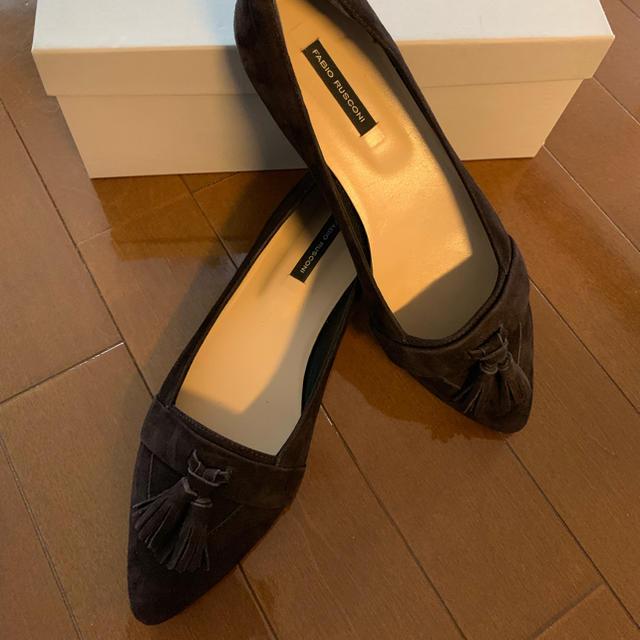 FABIO RUSCONI(ファビオルスコーニ)のFABIO RUSCONIのタッセルパンプス レディースの靴/シューズ(バレエシューズ)の商品写真
