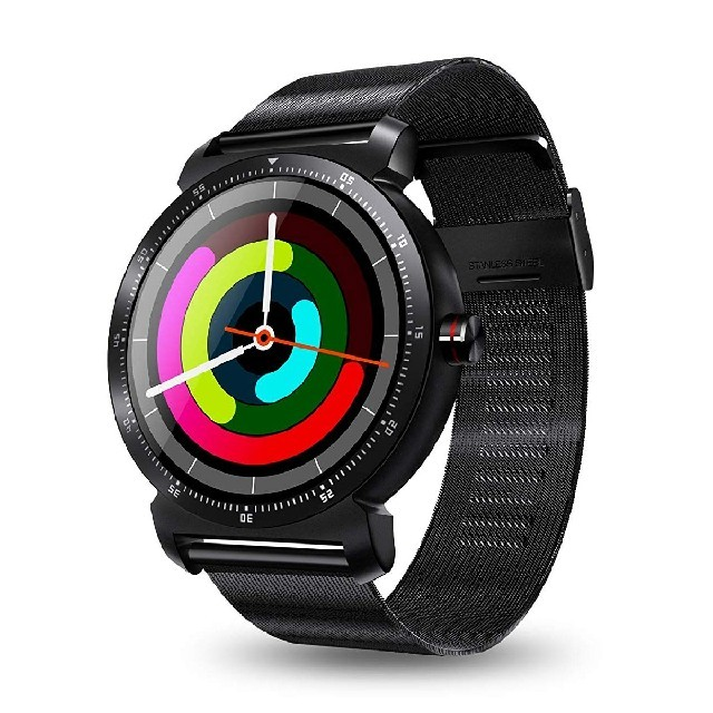 11.27 Diggro DX01 スマートウォッチ 黒 通話 活動量計 の通販