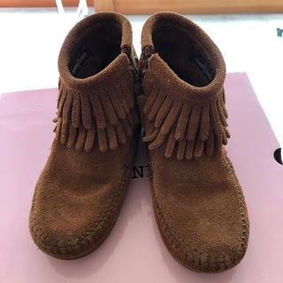 ミネトンカ(Minnetonka)のミネトンカ ショートブーツ 17cm(ブーツ)