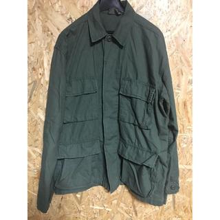 ロスコ(ROTHCO)のROTHCO ロスコ BDUシャツジャケット ミリタリージャケット カーキ S(ミリタリージャケット)