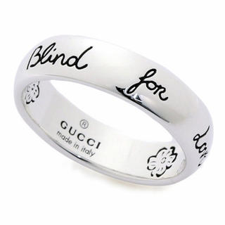 グッチ(Gucci)のGUCCI ブラインドフォーラブ(リング(指輪))