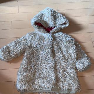 ハッカベビー(hakka baby)のハッカアシュカ  80新品くまちゃんコート!パリの子をイメージ高級ブランド(ジャケット/コート)
