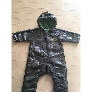 エーアーベー(eaB)の新生児 サイズ70 防寒着 おくるみ つなぎ 手足もすっぽり暖か( ¨̮ )(カバーオール)