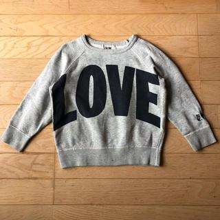 アクネ(ACNE)のAcne LOVEスウェット 子供用 4y USED(Tシャツ/カットソー)