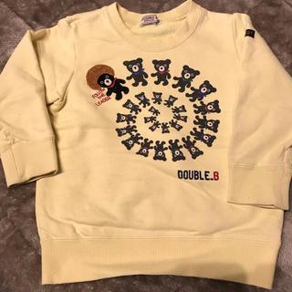 ダブルビー(DOUBLE.B)の★hayattyさま専用★ミキハウス ダブルB  トレーナー  100(Tシャツ/カットソー)