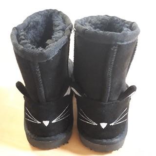 エニィファム(anyFAM)の【anyFAM】ネコ ムートンブーツ 16cm(ブーツ)