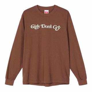 ジーディーシー(GDC)の【最終値下げ】girls don't cry ロンT/ ステッカー付き(Tシャツ/カットソー(七分/長袖))