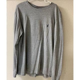 ポロラルフローレン(POLO RALPH LAUREN)のラルフローレン グレー ロンT(Tシャツ/カットソー(七分/長袖))