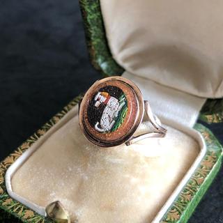 【専用】フランス アンティークリング ナポレオン3世時代 19世紀中頃 (リング(指輪))