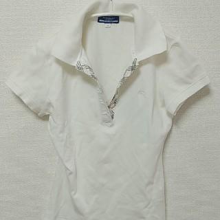 BURBERRY - 美品 バーバリー ポロシャツ ブルーレーベル