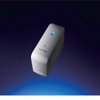 リコー(RICOH)のricoh handy printer リコー ハンディー プリンター 黒(PC周辺機器)