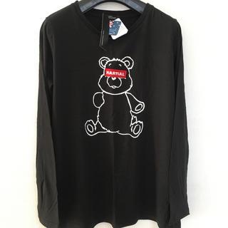アベイル(Avail)のpan mama 様 専用です‼️アベイルアバンギャルド ロングTシャツ 黒 L(カットソー(長袖/七分))