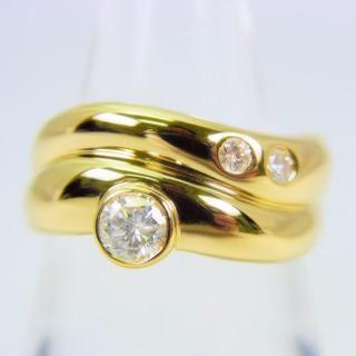 K18 ダイヤモンド リング 10.5号[g105-1](リング(指輪))