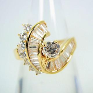 K18 ダイヤモンド リング 10.5号[g105-7](リング(指輪))