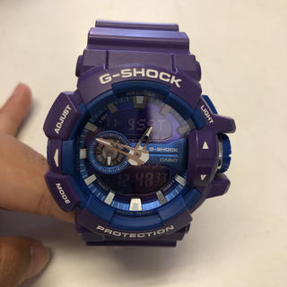 ジーショック(G-SHOCK)のG-SHOCK 紫(腕時計(デジタル))
