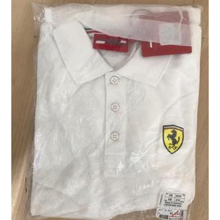 フェラーリ(Ferrari)の未開封 SCUDERIA FERRARI SF ポロシャツ ホワイト XS(ポロシャツ)