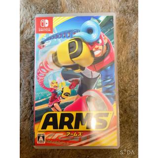 ニンテンドースイッチ(Nintendo Switch)の任天堂スイッチ ソフト 中古品 対戦ゲーム アームズ ARMS(家庭用ゲームソフト)