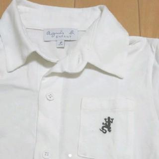 アニエスベー(agnes b.)のagnes b. アニエスベー カットソー 【1回のみ】 8ans 130(Tシャツ/カットソー)