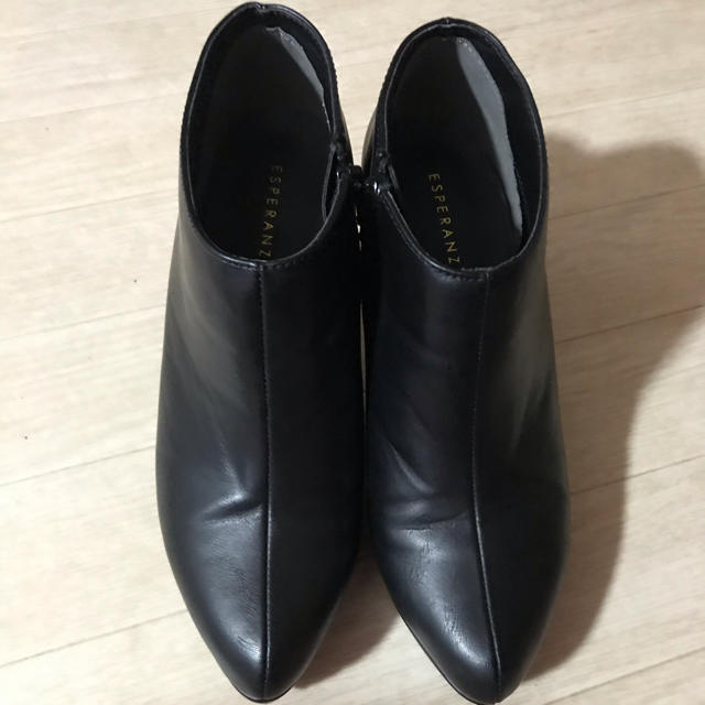 ESPERANZA(エスペランサ)のエスペランサ カウンターメッキブーティ レディースの靴/シューズ(ブーティ)の商品写真