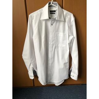 アオキ(AOKI)のLES MUES 白 ワイシャツ S37-82 STL(シャツ)