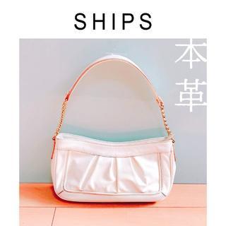 シップス(SHIPS)の美品*SHIPSの本革ショルダーバッグ(ショルダーバッグ)