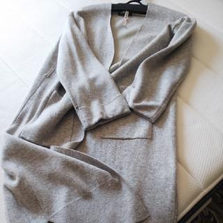 ダブルクローゼット(w closet)の美品ロングコーデガン(ロングコート)