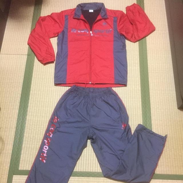 le coq sportif(ルコックスポルティフ)のルコック トレーニングウエア 上下 サイズM スポーツ/アウトドアのランニング(ウェア)の商品写真