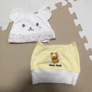 ベベ(BeBe)の赤ちゃん帽子くまのみ haruru様専用(帽子)