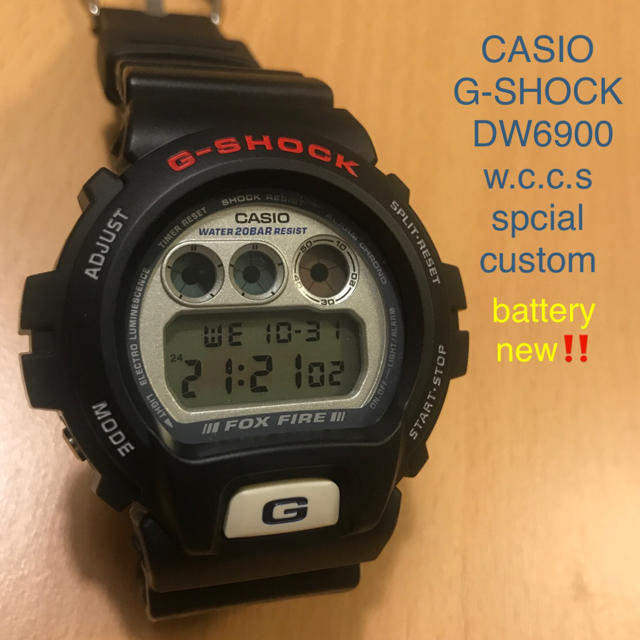 CASIO G-SHOCK DW6900 custom 腕時計の通販