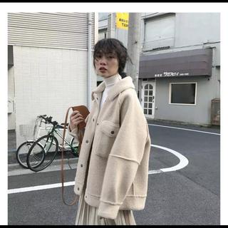 ザラ(ZARA)のCPOボアジャケット(毛皮/ファーコート)