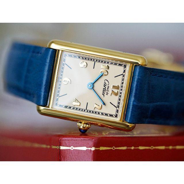 Cartier - 美品 カルティエ マスト タンク ゴールドアラビア LM Cartierの通販