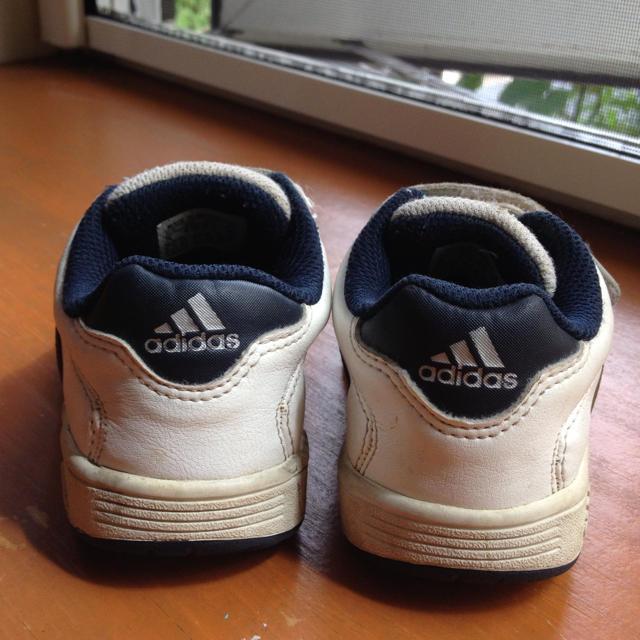 adidas(アディダス)の14cmスニーカー!送料込み! キッズ/ベビー/マタニティのベビー靴/シューズ(~14cm)(その他)の商品写真