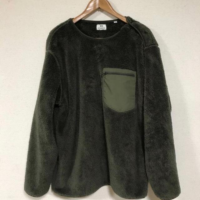 Engineered Garments(エンジニアードガーメンツ)のuniqlo エンジニアドガーメンツ フリース Mサイズ メンズのトップス(スウェット)の商品写真