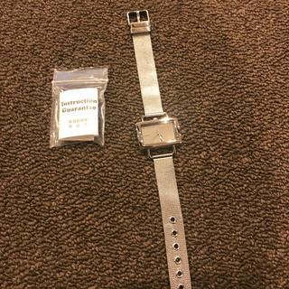 ニコアンド(niko and...)のレディース腕時計/シルバー(腕時計)