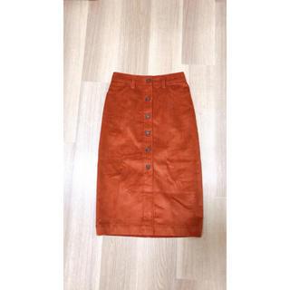 ギャップ(GAP)のGAPコーデュロイスカート(ひざ丈スカート)