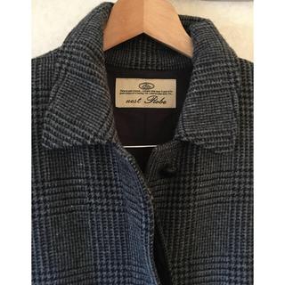 ネストローブ(nest Robe)の更にお値下げ❗️nest robe  ネストローブ グレーンチェックコート(ロングコート)