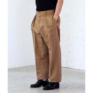 コモリ(COMOLI)の新作 NEAT ニート USA Newark Fit パンツ 30(スラックス)