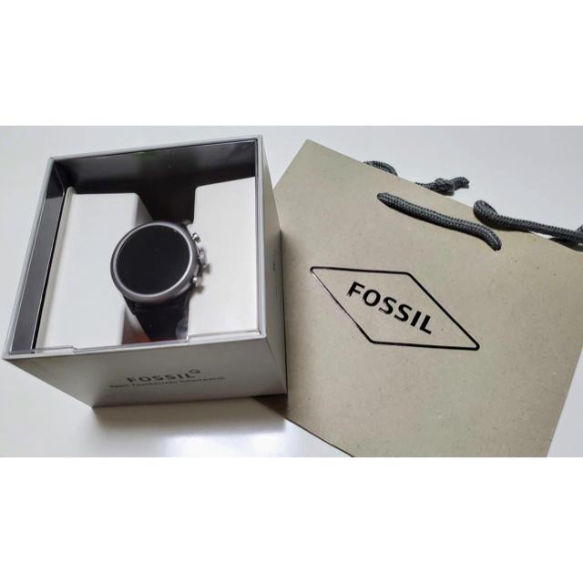 FOSSIL - 美品 フォッシル スマートウォッチ Fossil Sport FTW4019 黒の通販