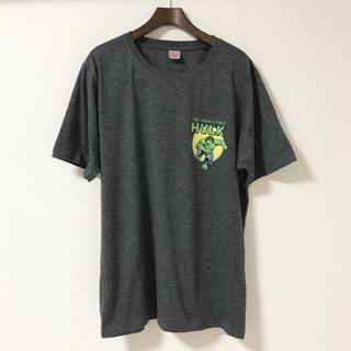マーベル(MARVEL)のMARVELマーベル★ハルク★Tシャツ★ダークグレー★筋肉(Tシャツ/カットソー(半袖/袖なし))