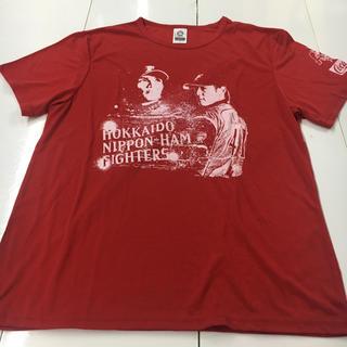 北海道日本ハムファイターズ - 日ハム Tシャツ コカコーラ サイズL