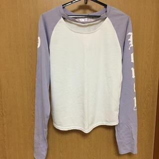 アベイル(Avail)の新品未使用 レディース 長袖 Tシャツ  カットソー  L(Tシャツ(長袖/七分))
